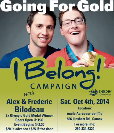 Alexandre Bilodeau Two Time Olympic Gold Medalist in Moguls is coming to the Comox Valley!